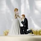 Cinderella Moment Wedding Cake Topper