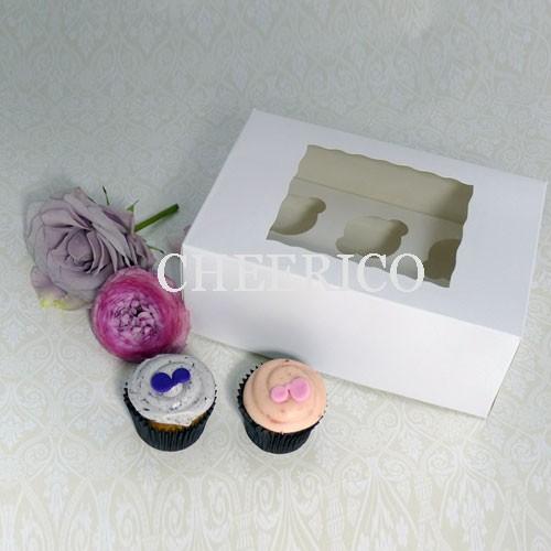 6 Window MIni Cupcake Box ($1.45/pc x 25 units)