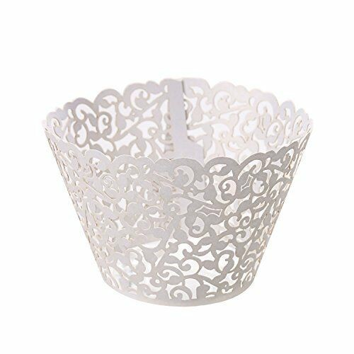 White Ivy Vine Cupcake Wrappers - 12units/pack